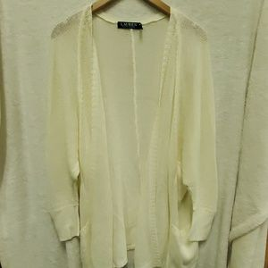 Slouchy Over Sized Lauren Cardigan